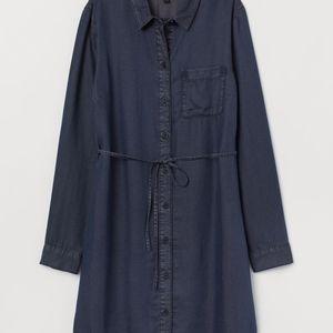 H&m shirt denim dress